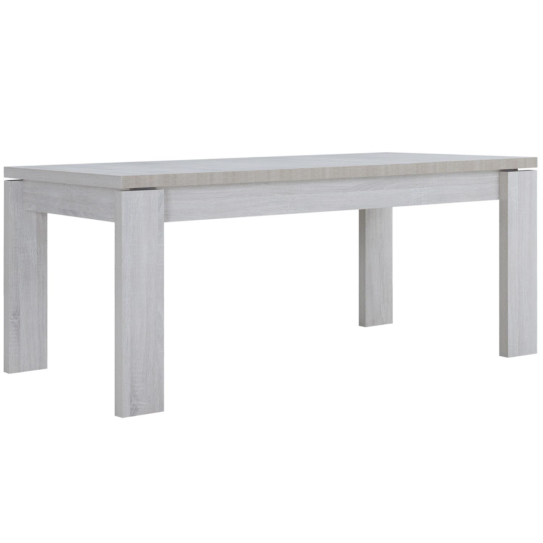 esstisch helsinki 180x95 esszimmertisch eiche wei wohnzimmer tisch. Black Bedroom Furniture Sets. Home Design Ideas