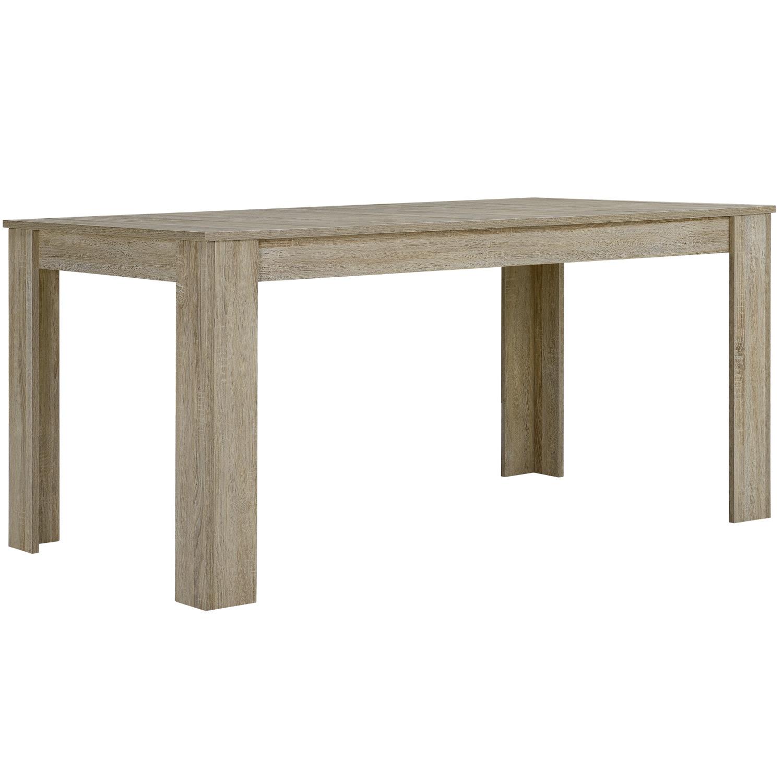 esstisch oslo 160x90 esszimmertisch eiche struktur wohnzimmer tisch ebay. Black Bedroom Furniture Sets. Home Design Ideas