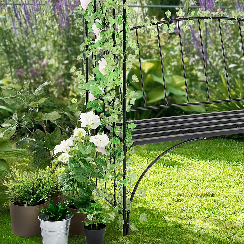 Maison support pour plantes grimpantes treillis m tal for Support pour plantes grimpantes