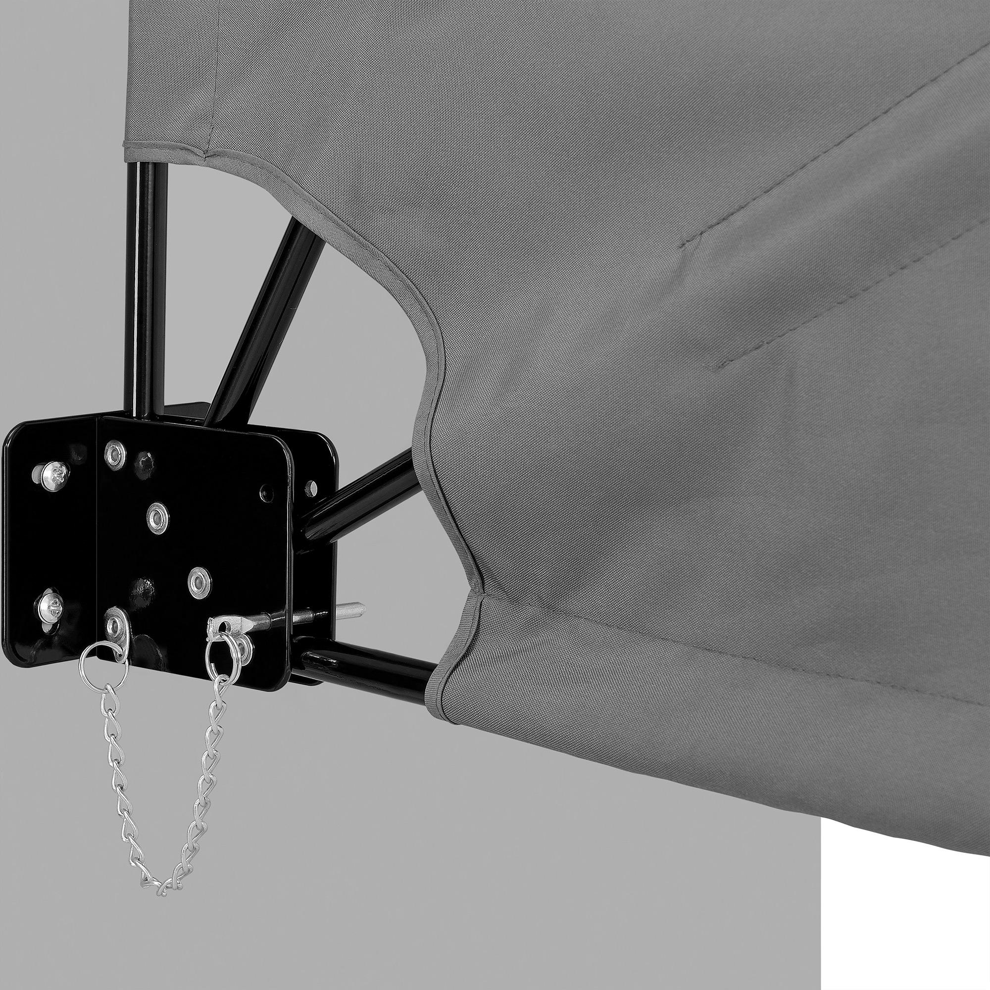 eventail pour balcon brise vue gris beige marquise balcon soleil vent ebay. Black Bedroom Furniture Sets. Home Design Ideas