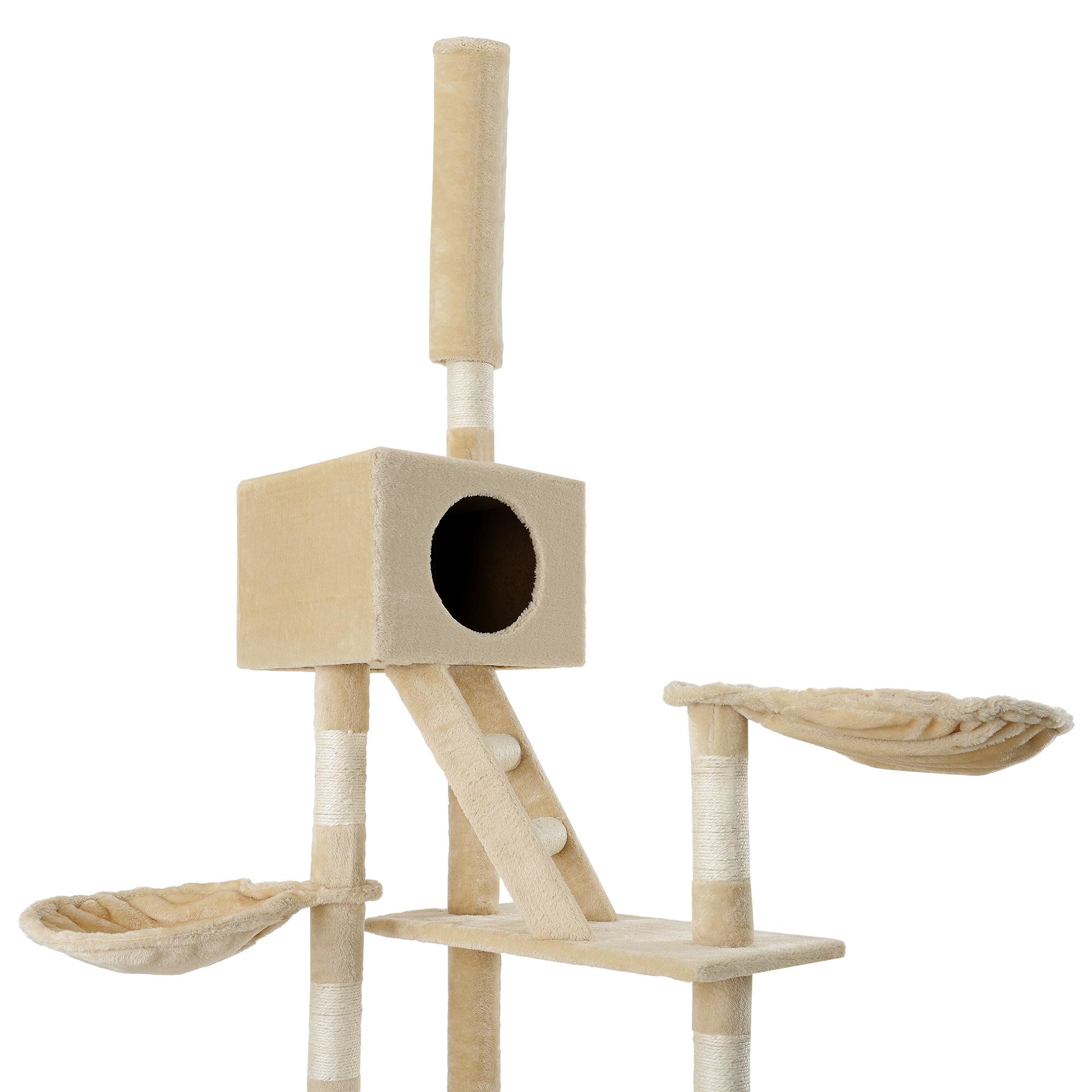 kratzbaum grau deckenhoch kletterbaum katzen. Black Bedroom Furniture Sets. Home Design Ideas