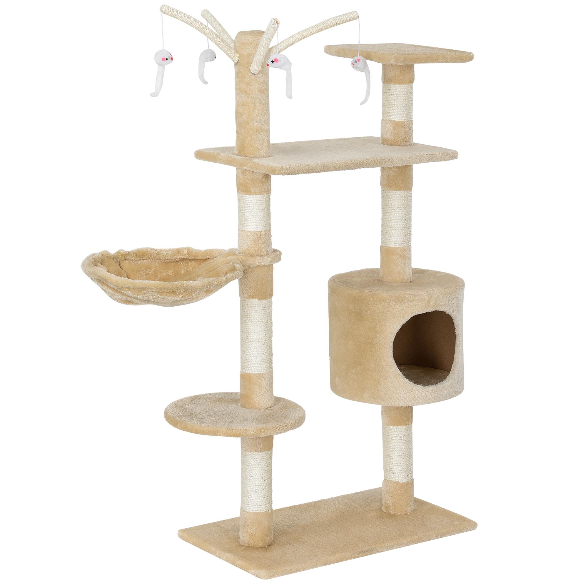 kratzbaum deckenhoch kletterbaum katzen baum katzenkratzbaum pl sch ebay. Black Bedroom Furniture Sets. Home Design Ideas