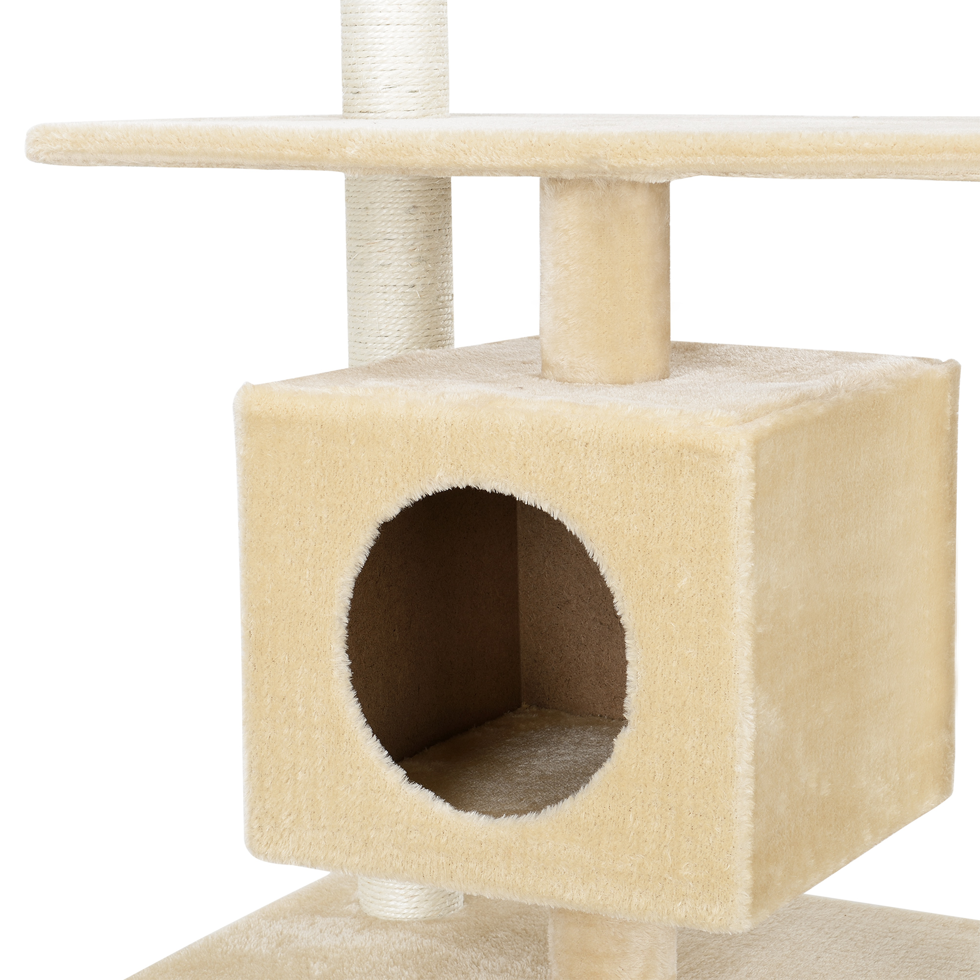 kratzbaum grau deckenhoch kletterbaum katzen baum katzenkratzbaum. Black Bedroom Furniture Sets. Home Design Ideas