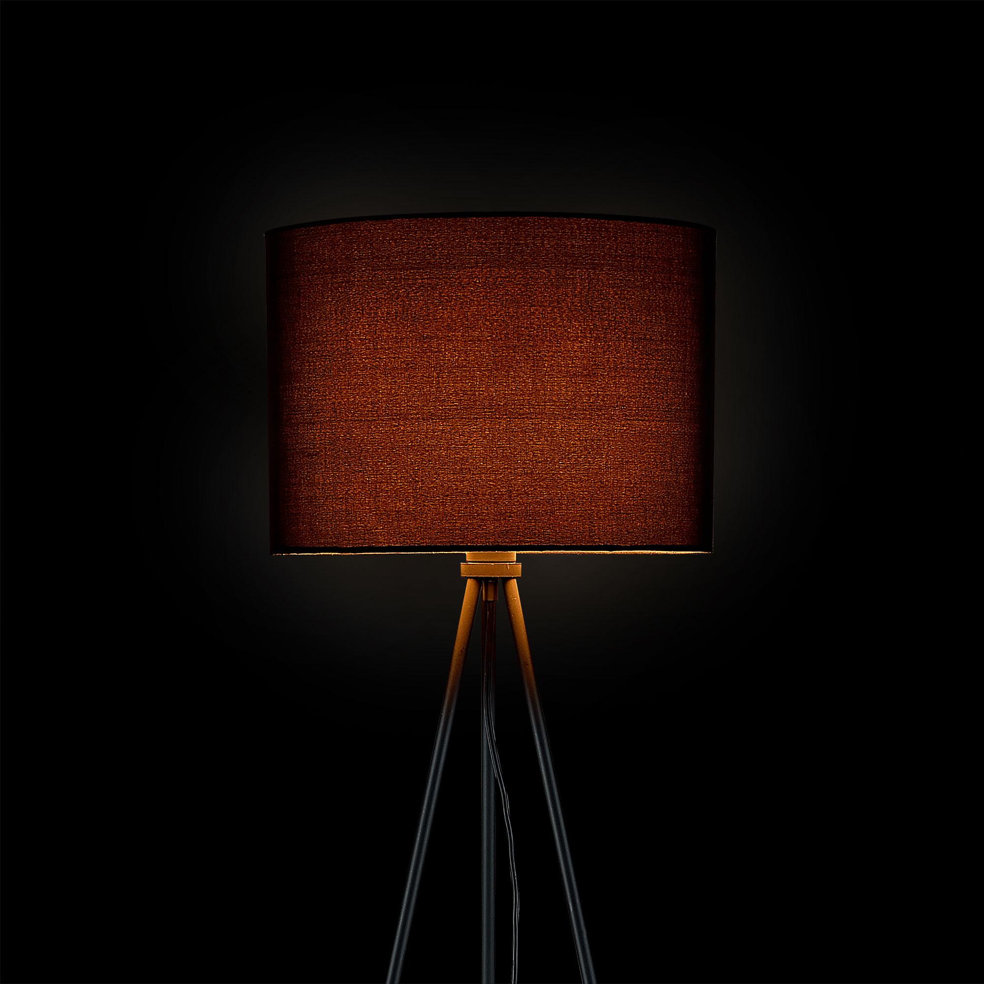 HT168019_schwarz_leuchtend Spannende Lampe Mit Mehreren Schirmen Dekorationen
