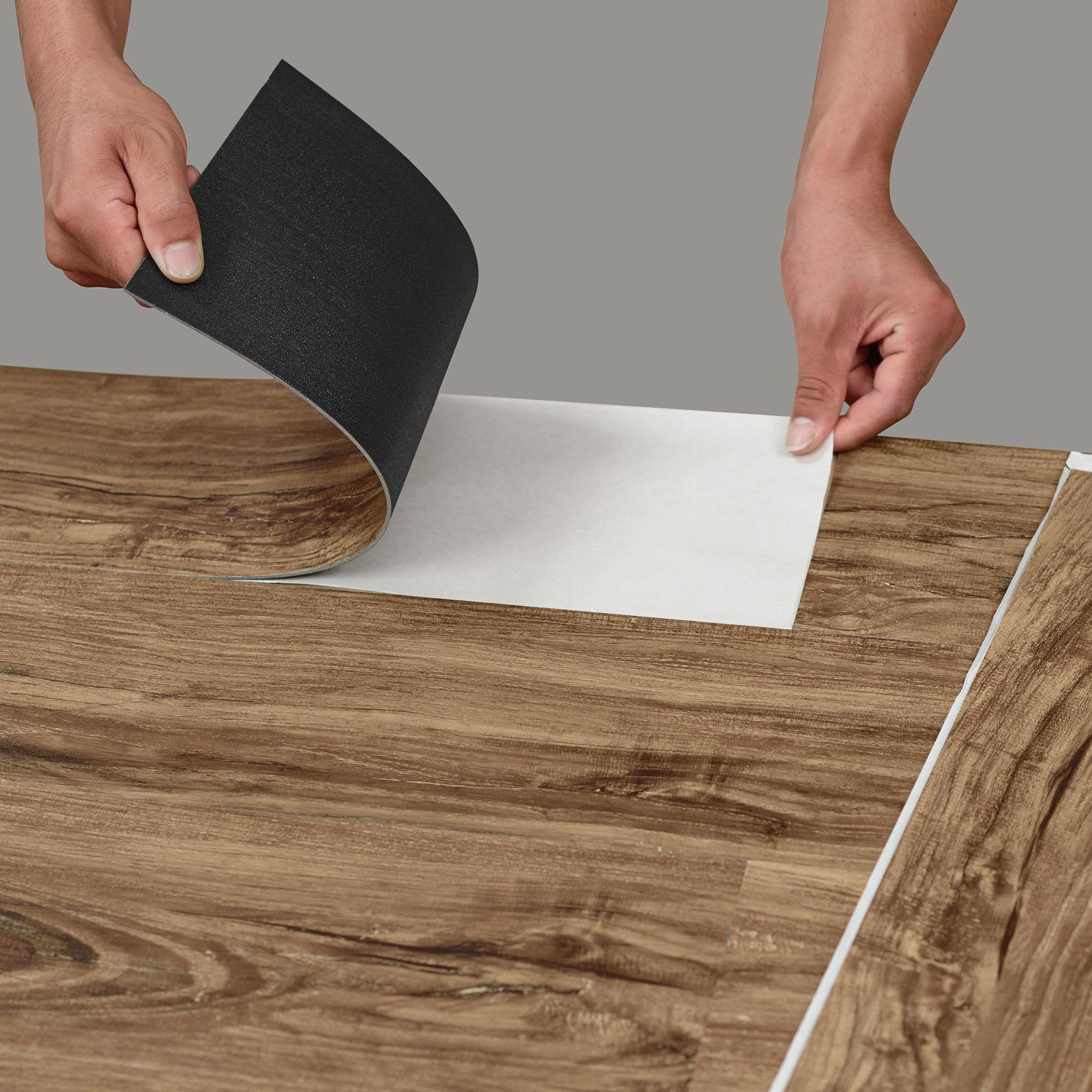 Fantastisch NEW. Wood ® ca. 1m² Vinyl Laminate Self Adhesive structure Matt  RE53